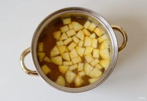 Гороховый суп с копченой паприкой - фото шаг 6