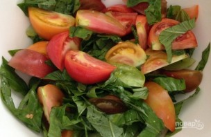 Очень простой салатик - фото шаг 1