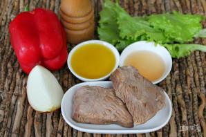 Будапештский салат с говядиной - фото шаг 1