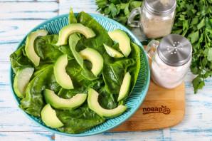 Салат с горбушей и авокадо - фото шаг 3