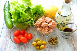 Салат с тунцом и каперсами - фото шаг 1
