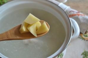 Куриный суп с вермишелью - фото шаг 2