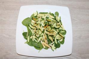 Диетический зелёный салат - фото шаг 8