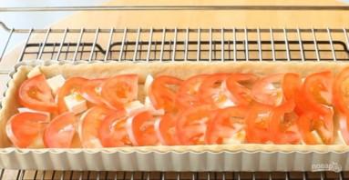 Пирог с сыром, помидорами и оливками - фото шаг 3