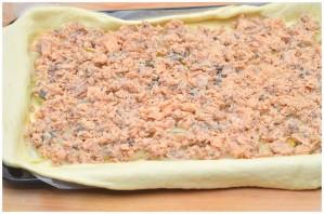 Рыбный пирог из песочного теста - фото шаг 5