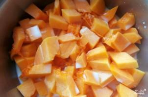 Яблочно-тыквенный пудинг - фото шаг 1