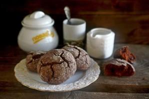 Шоколадное печенье с эспрессо и сахарной глазурью - фото шаг 8