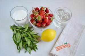 Домашний клубничный лимонад с мятой - фото шаг 1