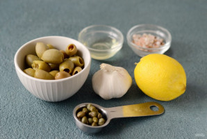 Оливковый паштет - фото шаг 1