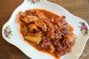 Лечо из перца и помидоров - фото шаг 7