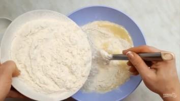 Тесто на кефире для несладких пирогов - фото шаг 2
