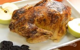 Курица с черносливом в фольге - фото шаг 10