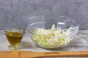 Салат из авокадо и капусты - фото шаг 2