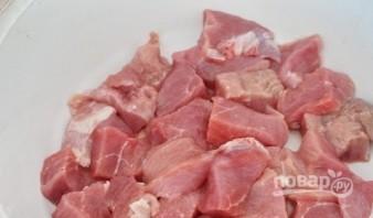 Мясо с грибами под соусом - фото шаг 5