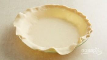 Слоеный пирог с брокколи и ветчиной - фото шаг 1