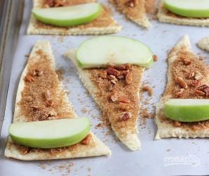 Слоеное тесто (выпечка с яблоками) - фото шаг 3