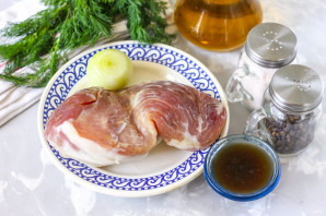 Свинина в соевом соусе в мультиварке - фото шаг 1
