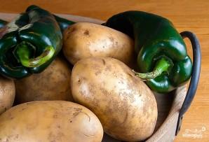 Картофельная запеканка без мяса - фото шаг 1