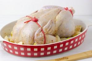 Курица, запеченная с грушами - фото шаг 6