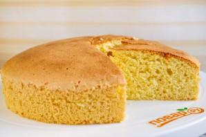 Бисквит на желтках - фото шаг 7
