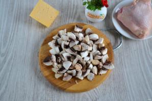 Помидоры фаршированные грибами - фото шаг 2