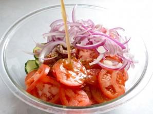 Салат из простых продуктов - фото шаг 3
