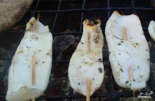 Кальмары на гриле - фото шаг 2