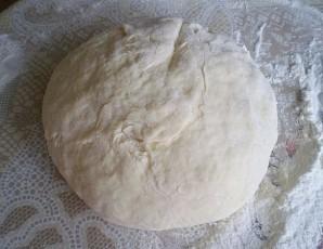 Пицца с фаршем и грибами - фото шаг 1