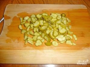Суп с солеными огурцами - фото шаг 3