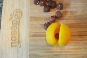 Абрикосовое варенье с орехами - фото шаг 4