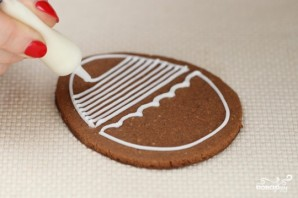 Пасхальные печенья с глазурью - фото шаг 3