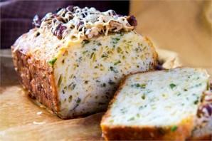 Кекс с сыром и зеленью - фото шаг 3