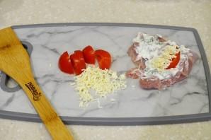 Куриные рулетики с помидорами и сыром - фото шаг 5