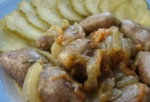 Жареные куриные сердечки - фото шаг 5