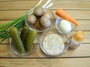 Рассольник классический рецепт с перловкой - фото шаг 1