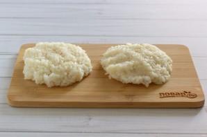 Рисовые зразы с грибами - фото шаг 3