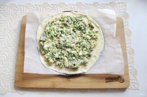 Пирог со щавелем и яйцом - фото шаг 8