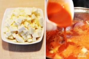 Томатный суп-пюре с сыром - фото шаг 6