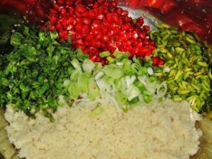 Салат с кускусом и гранатом - фото шаг 4