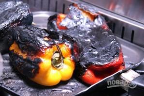 Салат из запеченного перца - фото шаг 3