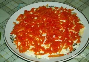 Салат с рыбными консервами - фото шаг 7