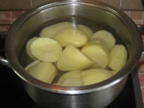Запеканка картофельная с вареным мясом - фото шаг 1