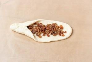 """""""Косички"""" с изюмом из дрожжевого теста - фото шаг 12"""