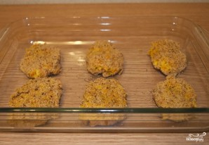 Морковные котлеты в духовке - фото шаг 5