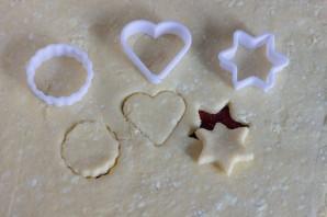 Творожное печенье с корицей и кунжутом - фото шаг 6