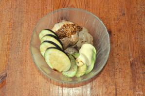 Мясо с овощами на гриле - фото шаг 5