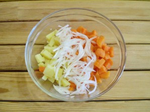 Салат из моркови и картофеля - фото шаг 5