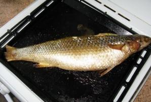 Фаршированная рыба, запеченная в духовке - фото шаг 3