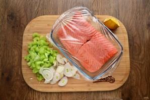 Филе лосося по-бретонски - фото шаг 2