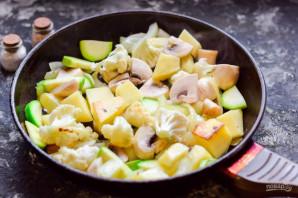 Овощное рагу с кабачками и фасолью - фото шаг 6